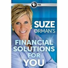 New Suze Orman Financial Solutions for You PBS  Special DVD (2014) Widescreen