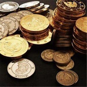 3tlg Harry Potter Hogwarts Gringotts Zauberhafte Galleonen Gedenkmünzen Sammlung