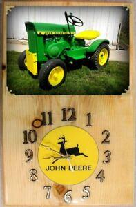 John Deere 110 (Round Fender) Wall Clock