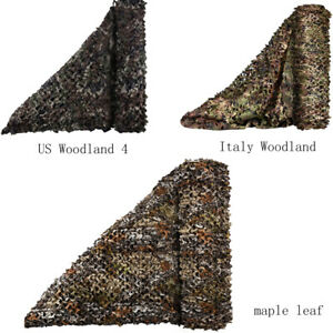 Camo Netting Camouflage Net for Sunshade Camping Military Hunting Shooting