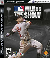PS3 MLB 09 The Show Video Game Online Multiplayer League Ready BaseBall Action