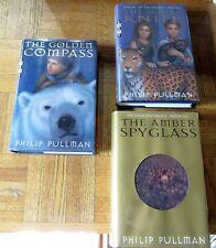 Philip Pullman - HIS DARK MATERIALS 3 Volumes First US Edition/Printing