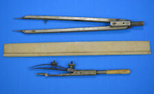 Vintage Drafting Instruments Dividers & Compass