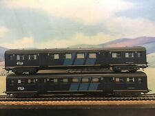 Lima H0 gauge N.S pair of coaches.