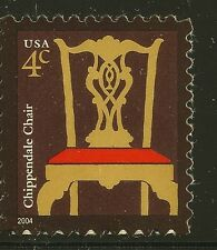 US Scott #3755, Single 2004 Chippendale Chair 4c VF MNH