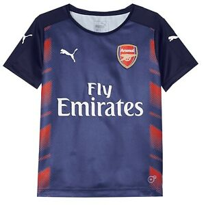 Puma AFC Stadium Jersey Arsenal Junior Kinder Trikot Sport T-Shirt Fußballshirt