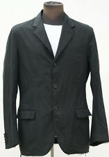 Prada unwound dark gray cotton coat blazer jacket sz 40 US- 50 EU