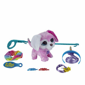 furReal Glamalots, Puppy Interactive Pet Plush Toy, for kids aged 4 and Up