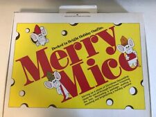 Merry Mice Christmas Decorating Ornaments
