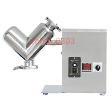 2L Lab Shear V Type Dry Powder Mixer Blender Mixing Machine Blending Machine US
