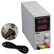 0-10A 0-30V 220V LCD DC Power Supply Adjustable Precision Variable Digital Lab