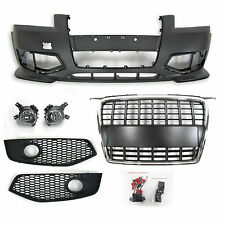 AUDI A3 (8P: 04-08) inc SPORTBACK S3 LOOK FRONT BUMPER AND FRONT GRILLE KIT
