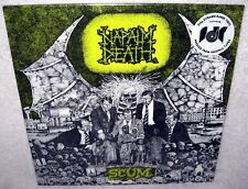 NAPALM DEATH Scum LP Grindcore METAL Thrash PUNK ROCK Remastered SEALED New MOSH
