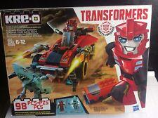 Hasbro Transformers KRE-O Sideswipe Roadway RID Robots in Disguise 98 Pcs