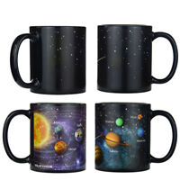 Star Solar System Color Change  Mug Milk Coffee Magic Ceramic Cups Gift 1Pcs