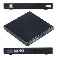USB 2.0 Slim External CD-RW/DVD-RW DVD-ROM Burner Drive Writer for PC/Mac/Laptop