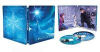 New Frozen [SteelBook] [Includes Digital Copy] [4K Ultra HD Blu-ray/Blu-ray]