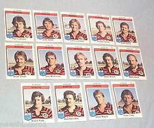 1980  NORTH SYDNEY BEARS  SCANLENS RUGBY LEAGUE CARDS