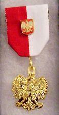 Medieval Poland Polish Royal Knight Medal Battle Award War Eagle Cavalry Shield