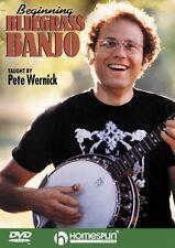 Beginning Bluegrass Banjo DVD Instructional Folk Instrmt DVD NEW 000641606