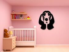 Wall Stickers Vinyl Decal Cute Dog with Long Ears Animal Pets Puppy (ig299)