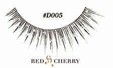 style #D005 Red Cherry False Lashes Party fancy dress fake eyelashes GLITTER