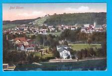 1063 ▶ AK Bad Kösen Totale - Lindental Leipzig 1919