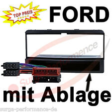 FORD Fiesta Focus Galaxy AUTO RADIO BLENDE RAHMEN + ADAPTER KABEL NEU OVP