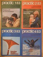 4x PRACTIC 1983 3* komplett ! DDR-Zeitschrift für Heimwerker Bastler Modelbau