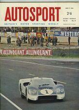 AUTOSPORT 17th GIUGNO 1966 FERRARI vincere BELGA GRAND PRIX