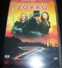 The Mask of Zorro (The Widesreen Presentation) (Australia Region 4) DVD - New