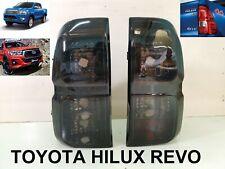 TOYOTA HILUX Revo M70 M80 ROCCO Smoke Tail Light Lamp Pickup Parts R&L 2015-2019