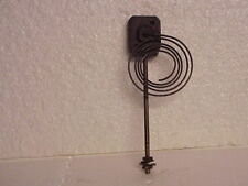 "Used 5 Coil 2 7/8"" Clock Coil Gong On A 7 ¼"" Stand parts repair N"