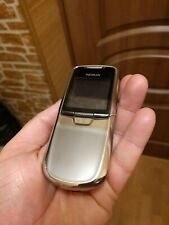 Nokia 8801 Classic Silver. Genuine. Unlocked.