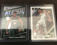 Donruss Optic Giannis Antetokounmpo My House Insert And Base Bucks MVP 2020