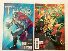 THE MIGHTY THOR (#12.1 AND #17)  MARVEL HIGH GRADE 9.8 NM/MT