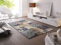 wash+dry Teppich waschbar Fußmatte Bodenmatte 75 x 120 cm Armonia grey