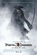 Pirates of the Caribbean: At World's End Original 27 X 40 Movie Poster