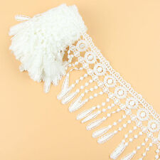 3 Yards Off White Fabric Polyester Venise Lace Trim Lamp Fringe For Sewing Craft