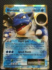 Pokemon : XY EVOLUTIONS BLASTOISE EX 21/108 RARE HOLO EX