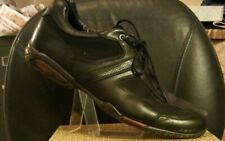 Impulse~Sport~Culture~ Mens~Black~Leather/Cloth~Oxford/Loafers~Lace Up~Sz~10.5M