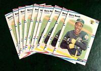 1988 Fleer #322 Barry Bonds - Pirates lot of 10