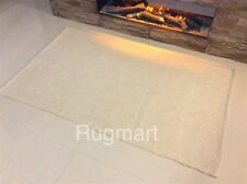Geometric Ethnic Natural CREAM Eco Friendly Recycled Cotton Rich Washable Rugs