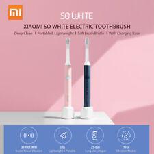 Então Xiaomi 2PCS Branco Escova De Dentes Elétrica ultrassônica Wireless escovas Pink + Azul