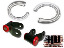 """2"""" Coil Spacers C1500 C2500 C3500 K1500 HD Suspension 1.5"""" Lift Raise Shackles"""