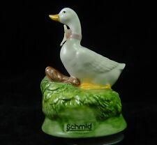 1985 Schmid Howard Kaplan White Goose Music Box Plays - Feelings