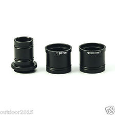 C Mount Adapter 23.2mm 30mm 30.5mm Microscope Eyepiece Lens  for CCD Camera