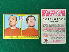 CALCIATORI 1968/69 68/1969 PERUGIA PANIO OLIVIERI Figurina Sticker Panini (NEW)