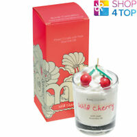 WILD CHERRY PIPED CANDLE BOMB COSMETICS LUSH CHERRY BERRIES SCENTED NEW