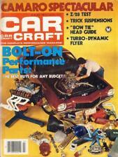 CAR CRAFT JULY 1980-CAMARO Z28 TEST-BUDWEISER FUNNY CARS-73 VEGA-55 CHEVY MAG
